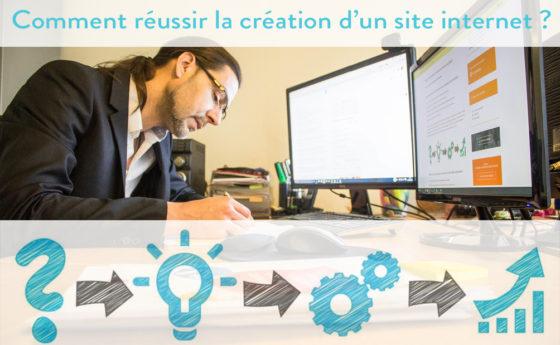 Comment réussir la création d'un site internet ?